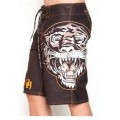 Chocolate Tiger Ed Hardy Site Beach Shorts For Men