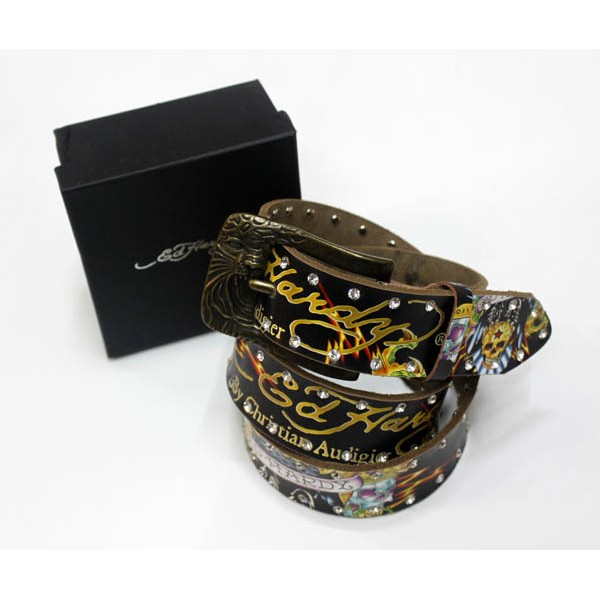 Ed Hardy Belts Diamond Black Eagle Dragon