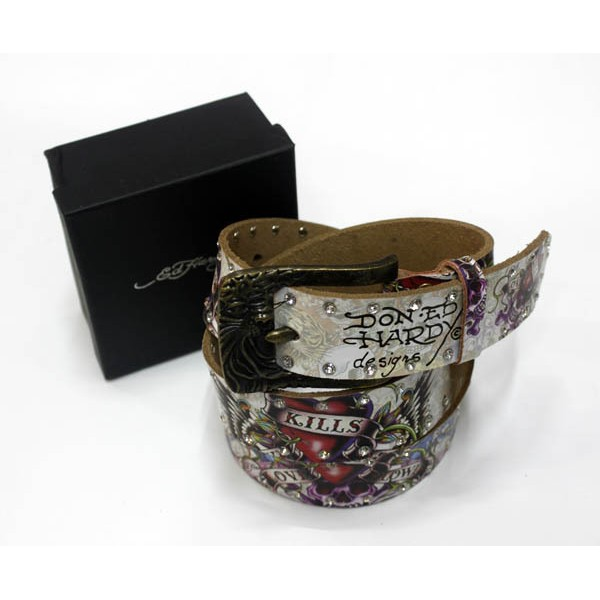Ed Hardy Belts Diamond Blend Tattoo