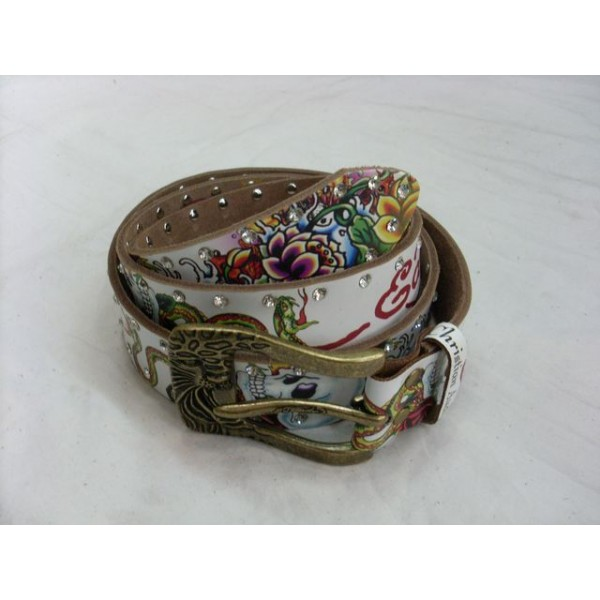 Ed Hardy Belts Diamond Cobra Flowers Skull