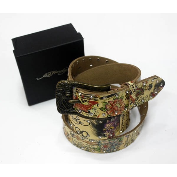 Ed Hardy Belts Diamond Japanese Tattoo