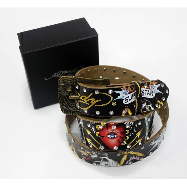 Ed Hardy Belts Diamond Superstar