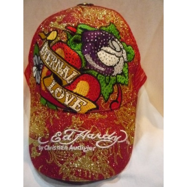 About Ed Hardy Caps Red Rose For Sale