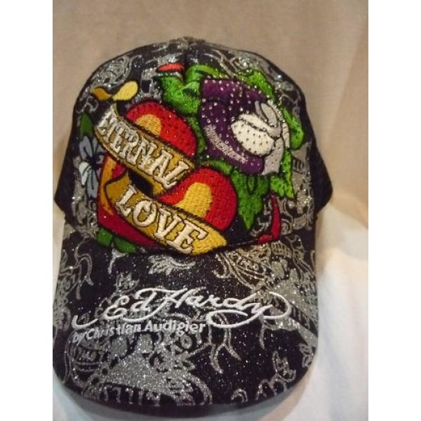 Cheap Ed Hardy Wear Caps Black Love
