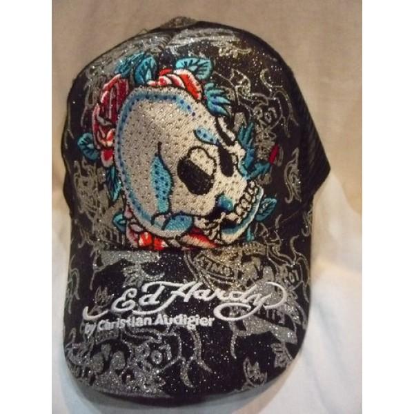Ed Hardy Caps Black Skull Online Shopping