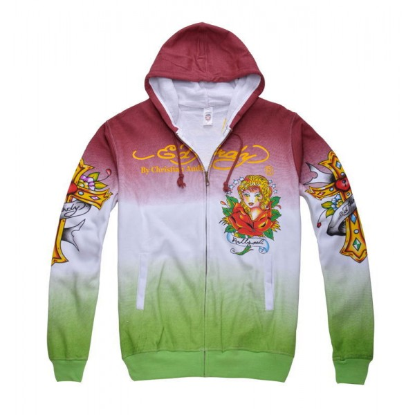 Buy Ed Hardy Hoodies Clearance Girl LKS Online