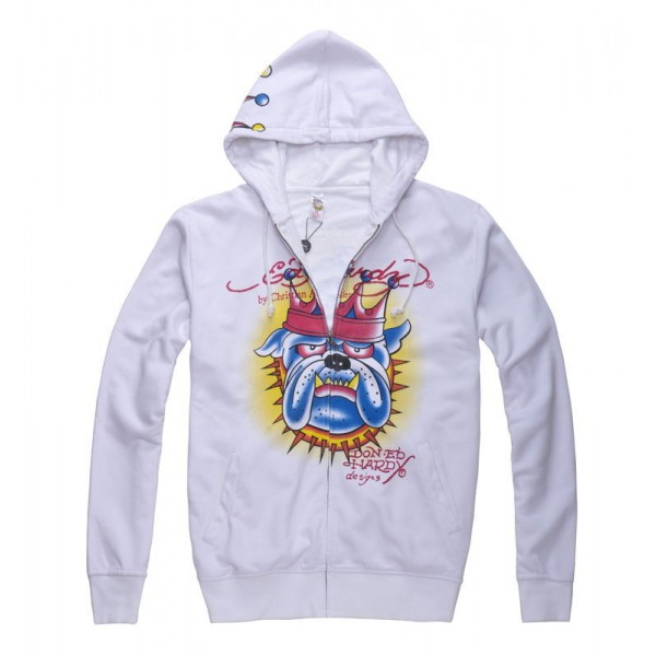 Cheap Ed Hardy Hoodies UK Clothes Crown Dog