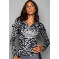 Christian Audigier Hoodies Leopard Crown For Women