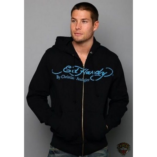 Ed Hardy Black SkullHoody For Men Factory Outlet