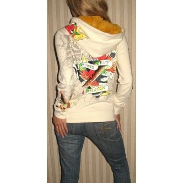 Ed Hardy Hoodies Bowed But Not Beaten For Women