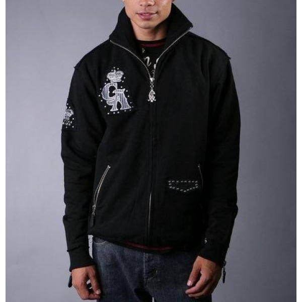 Ed Hardy Original Hoodies Black CA Outlet Store