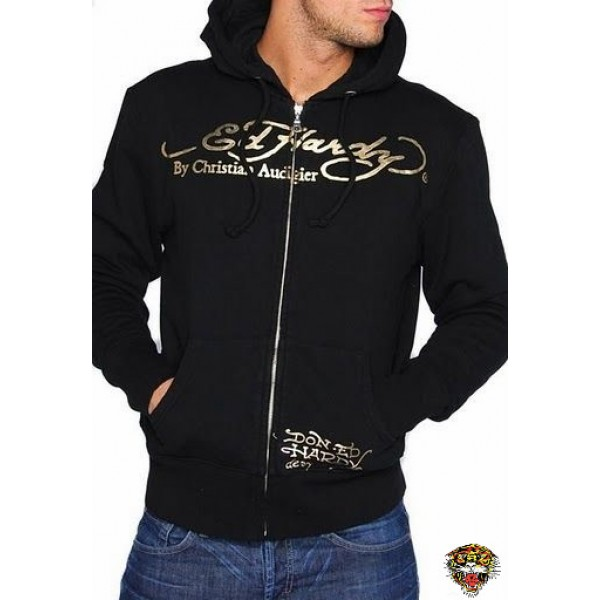 Ed Hardy Original Mens Hoodies Love Kill Slowly
