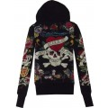 Ed Hardy Products Hoodies For Women Black