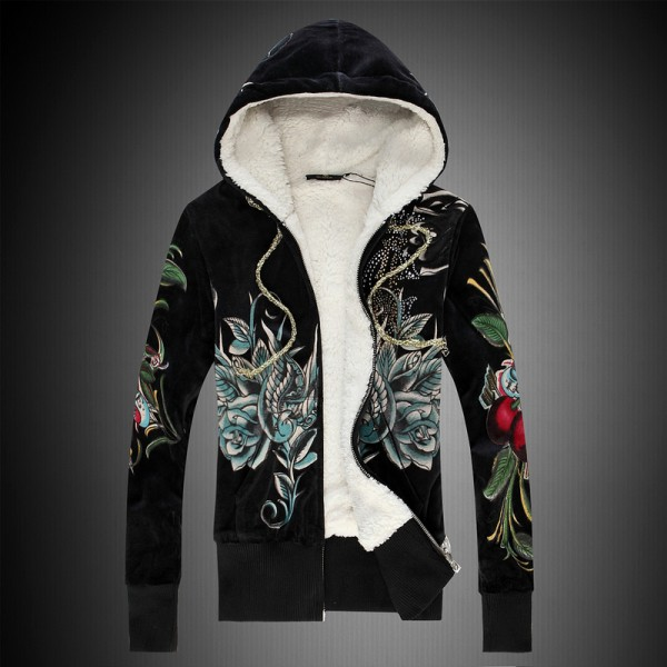 Peacock Christian Ed Hardy Hoodies UK For Women