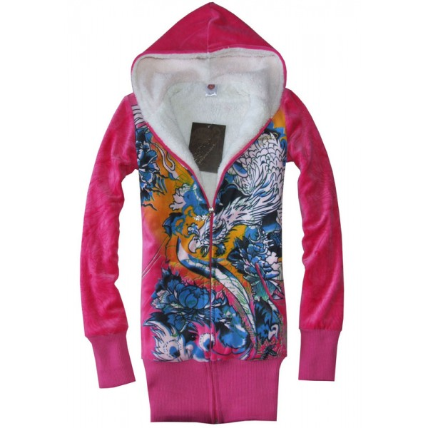 Phoenix Womens Ed Hardy Christian Hoodies UK