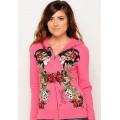 Pink Beauty Hoodies Clearance Ed Hardy For Women