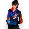 Ed Hardy Jackets Death or Glory Black For Women