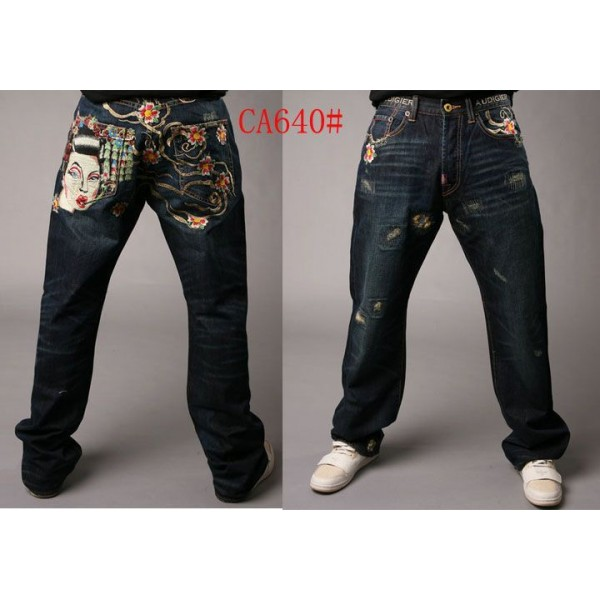 CA Ed Hardy Online Shop Jeans Geisha Men UK Sale