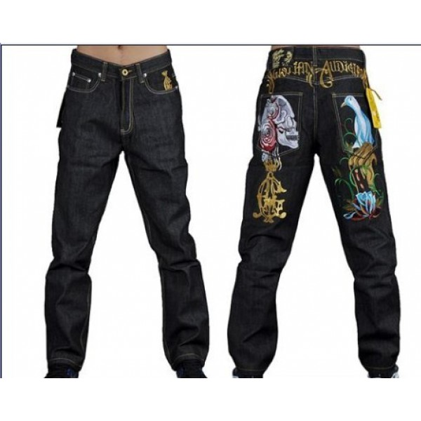 Cheap Ed Hardy CA Sydney Plus Size Jeans Skull Bird