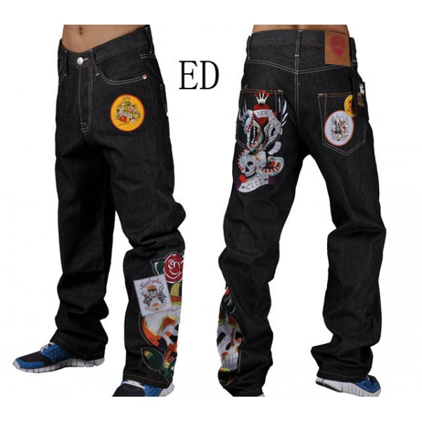 Don Ed Hardy Tattoos Men Jeans New York City