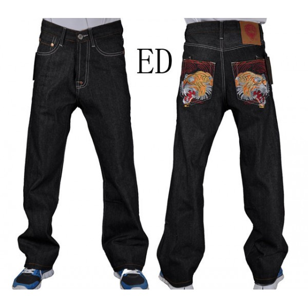 Ed Hardy Factory Outlet Shop Mens Jeans Tiger