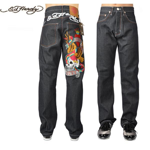 Ed Hardy Jeans New York City King Denim For Men