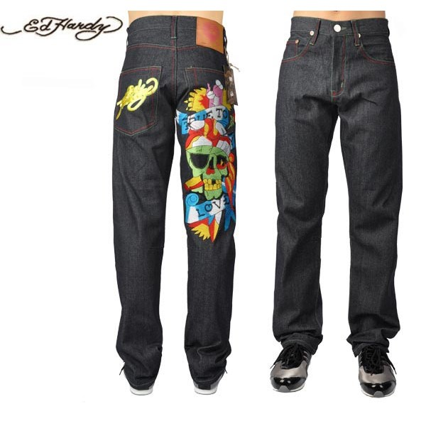 Ed Hardy Jeans True To Love Denim For Men
