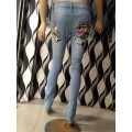 Ed Hardy Womens Jeans Geisha