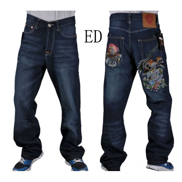 Mens Ed Hardy NZ Jeans Eagle Cobra Online Store