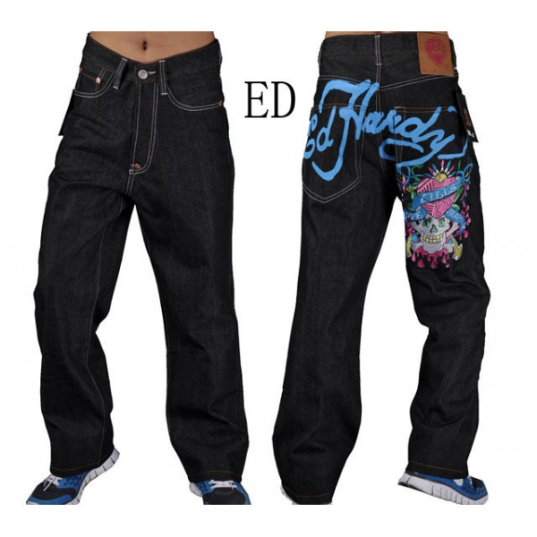 Pictures Of Ed Hardy Jeans Prints Skull LKS