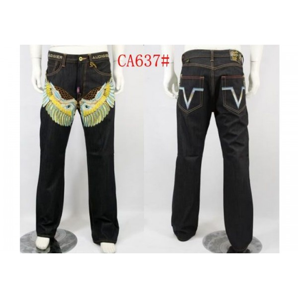 Plus Size Ed Hardy CA Jeans UK For Sale Wing Eye