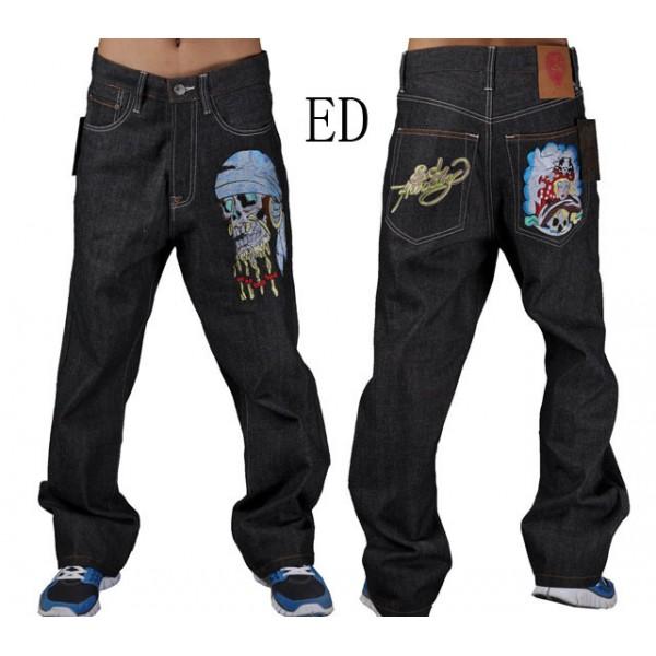 Skull Pirate Ed Hardy Men Jeans Store Online