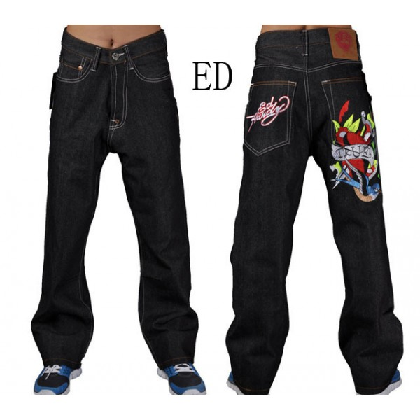 True Love Mens Ed Hardy Canada Jeans Sales