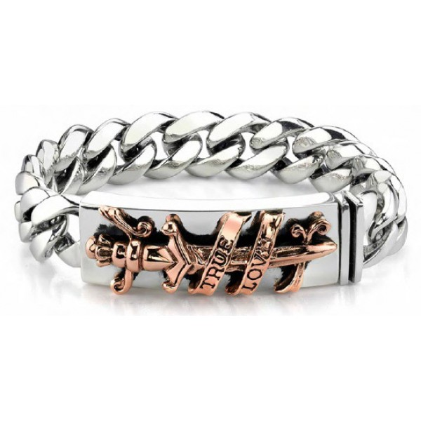 Ed Hardy Jewelry Bracelet Gold True Love Store Online