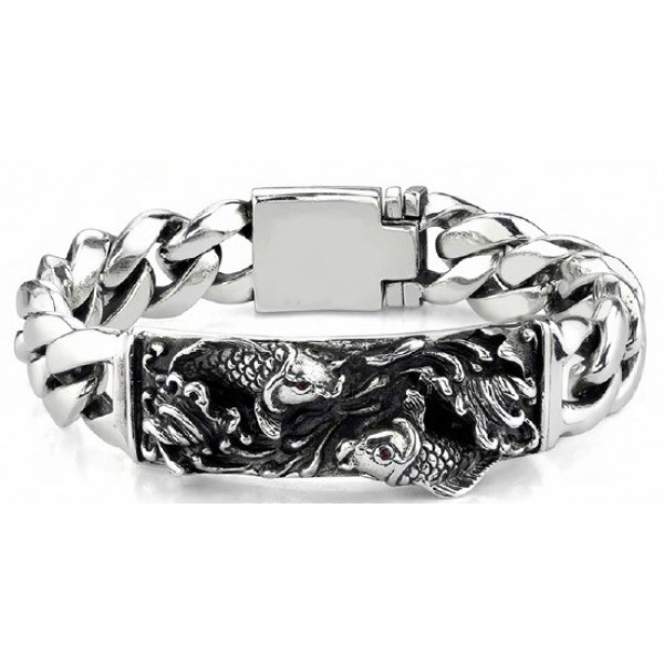 Ed Hardy Jewelry Bracelet Tattoo Design Fish