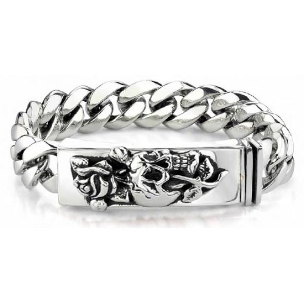 Ed Hardy Australia Jewelry Bracelet Skull Rose