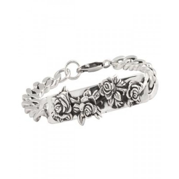 Ed Hardy Tattoo Designs Rose Jewelry Bracelet