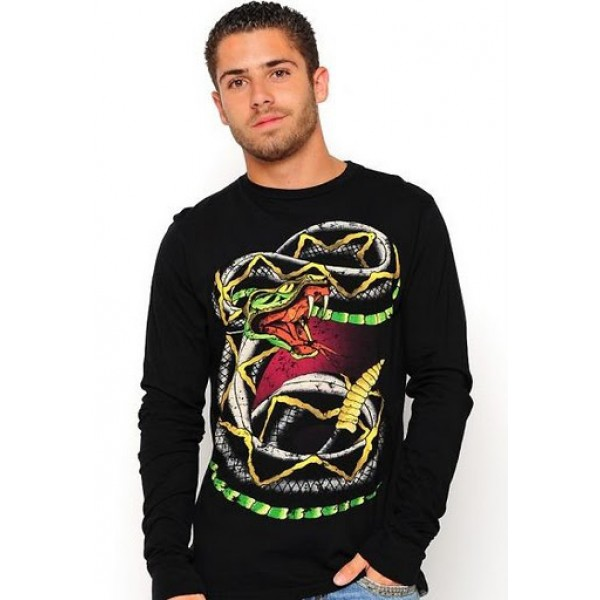 Cobra Long Sleeve Ed Hardy Boys Products Black