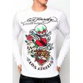 DOL Ed Hardy Clothing Store Men Long Sleeve White