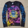 ED Hardy Mens Long Sleeve T Shirt Love Kill Slowly Black