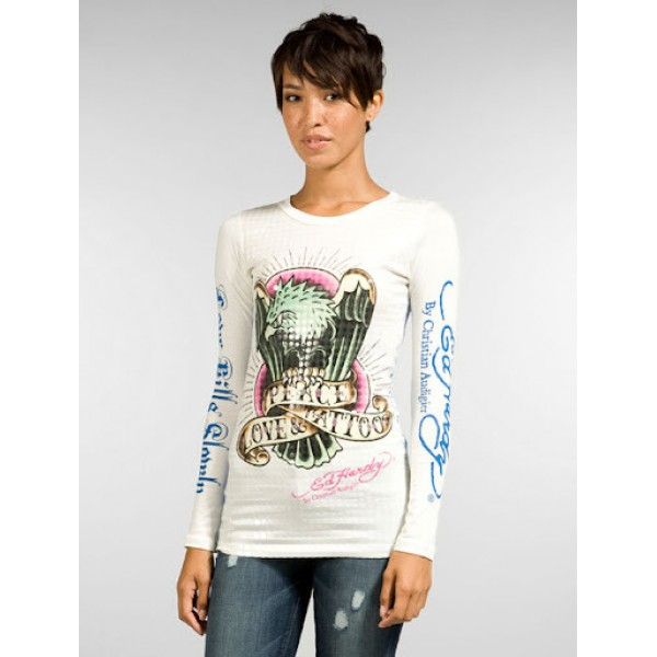 Eagle Long T Shirt Ed Hardy For Women Australia