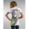 Ed Hardy Long T Shirt White For Women Store Online