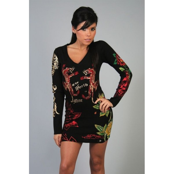 Leopard Long Sleeve Ed Hardy For Women Canada