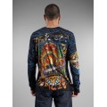 Long Sleeve Ed Hardy Men San Francisco CA Black