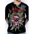 Long Sleeve Men Ed Hardy Store Online LKS Black