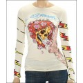 Long T Shirt Ed Hardy For Ladies Outlet Skull