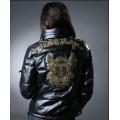 Christian Audigier Padded Outwear Crown Black For Women