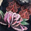 Christian Audigier Long Suits Rose Peacock Black For Women