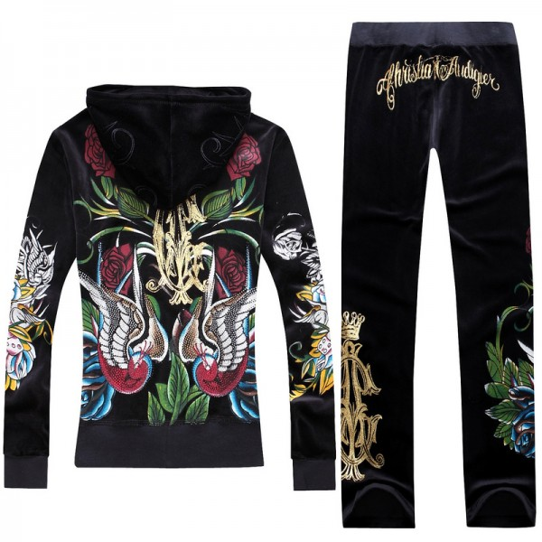 ED Hardy Long Suits Christian Audigier Black For Women