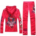 ED Hardy Long Suits Diamond Love Kill Slowly Red For Women